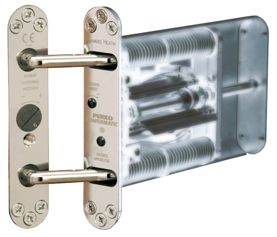 KG21 Recessed Single Action Door Closer For Mental Health