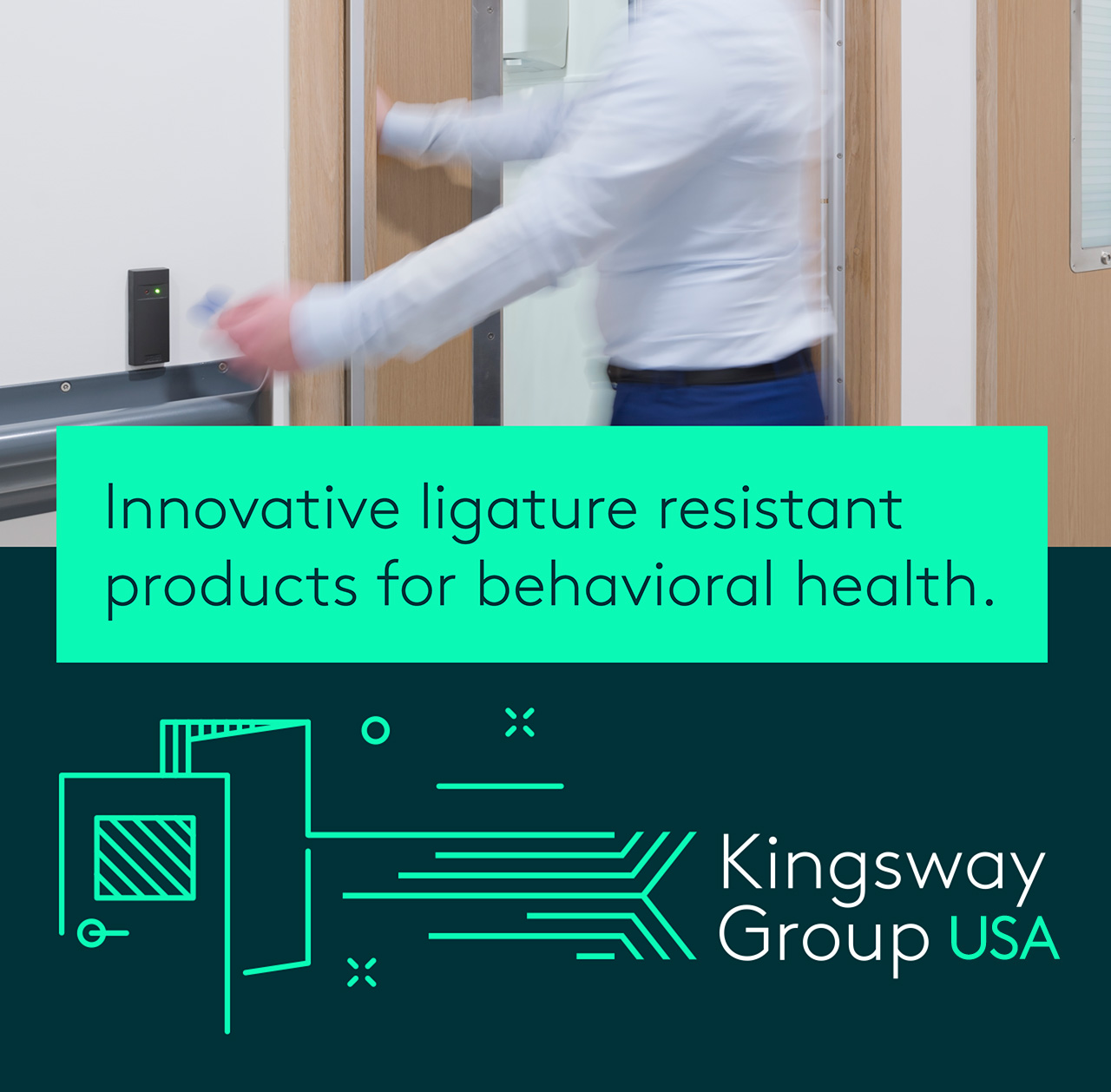 Kingsway Group anti-ligature products.