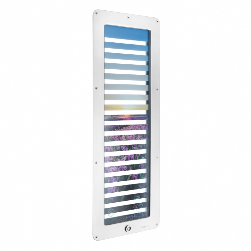 Duralux D8400 Privacy Vision Panel - Staff Key Side (with Picture)