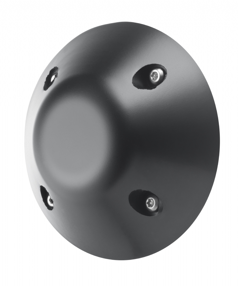 KG183 ANTI-LIGATURE LARGE RUBBER DOOR STOP WALL MOUNTED