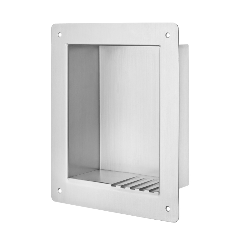 KG12 Anti-Ligature Recessed Washroom Shelf